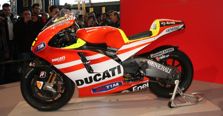 New Duccati 46 - for Valentino Rossi