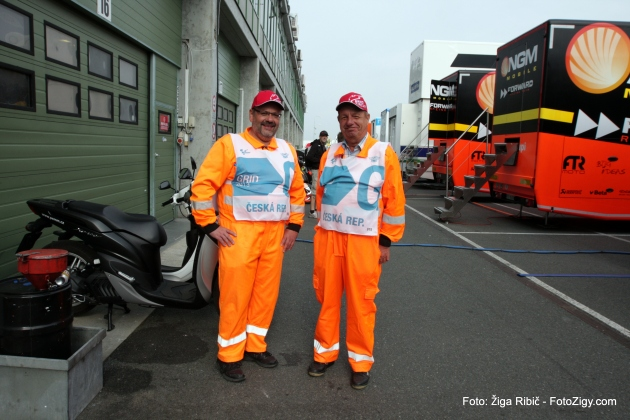 Security in PIT Moto GP
