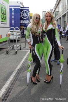 GO & Fun Moto GP girl