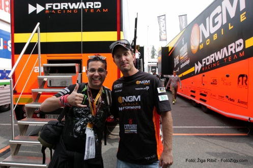 Me and Texas Tornado - Colin Edwards